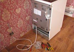 Подключение электроплиты. Хабаровские электрики.
