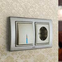 Установка выключателей в Хабаровске. Монтаж, ремонт, замена выключателей, розеток Хабаровск.